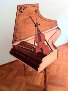 cembalo violino italiano